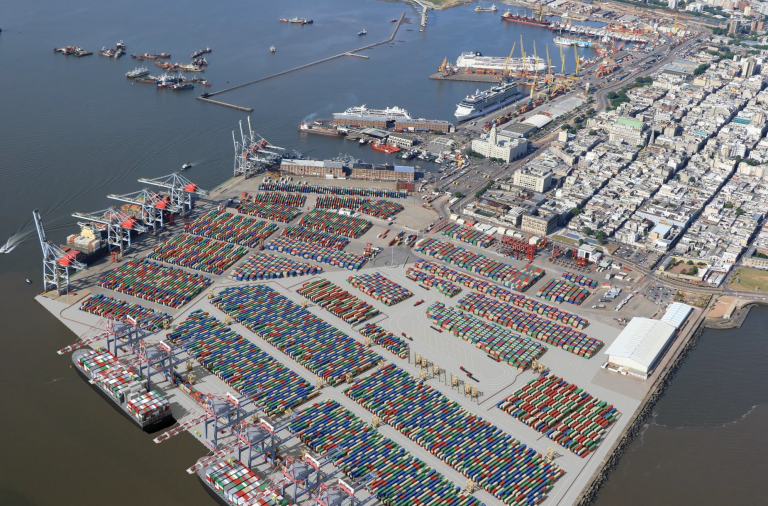 Katoen Natie invertirá USD 455 millones para ampliar terminal de contenedores en Montevideo. - Webpicking